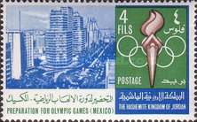 [Preparation for Olympic Games in Mexico 1968, type HL]
