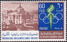 [Preparation for Olympic Games in Mexico 1968, type HN]