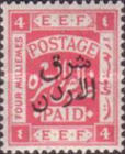 [Design of Palestine Overprinted, Typ P3]