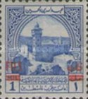 [Aid for Palestine - Jordan Postal Tax Stamps of 1947 Surcharged with New Currency, type G]