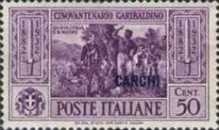 [Italian Occupation- Italian Occupation Postage Stamps No. 360-369 Overprinted