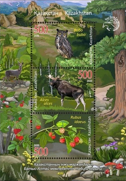 [Flora and Fauna - West Altai Nature Reserve, type ]