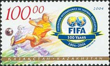 [The 100th Anniversary of FIFA or Federation Internationale de Football Association, Typ NS]