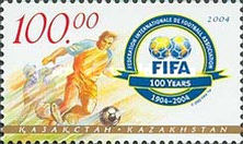 [The 100th Anniversary of FIFA or Federation Internationale de Football Association, Typ NT]