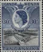 [Royal Visit - Issue of 1954 Overprinted