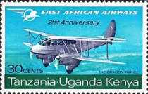 [The 21st Anniversary of East African Airways, type BP]