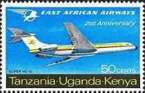 [The 21st Anniversary of East African Airways, type BQ]