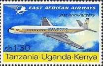 [The 21st Anniversary of East African Airways, type BR]