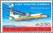 [The 21st Anniversary of East African Airways, type BS]