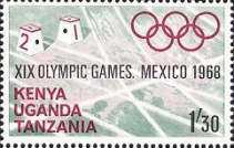 [Olympic Games - Mexico City, Mexico, type CI]