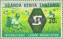 [The 50th Anniversary of International Labour Organization, type CO]