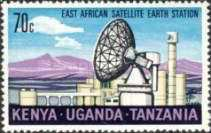[Inauguration of Satellite Earth Station, type CZ]