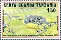 [The 10th Anniversary of Kenya's Independence, type EZ]
