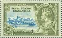 [The 25th Anniversary of King George V's Accession, Typ J]