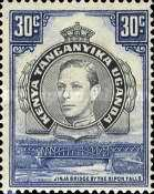 [Issues of 1935 but with Portrait of King George VI, type P]