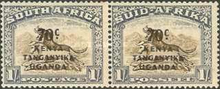 [Stamps of South Africa Overprinted
