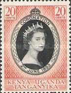 [Coronation of Queen Elizabeth II, type V1]