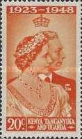 [The 25th Anniversary of the Wedding of King George VI and Queen Elizabeth, type X]