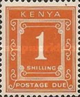 [Numeral Stamps - Different Perforation, Typ A17]