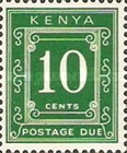 [Numeral Stamps - Different Perforation, Typ A19]