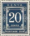 [Numeral Stamps - Different Perforation, Typ A20]