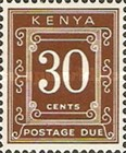 [Numeral Stamps - Different Perforation, Typ A21]