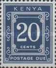 [Numeral Stamps - Different Perforation, Typ A25]