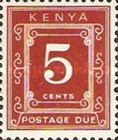 [Numeral Stamps - Different Perforation, Typ A6]