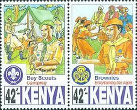 [The 75th Anniversary of Scout Movement in Kenya, Typ AAW]