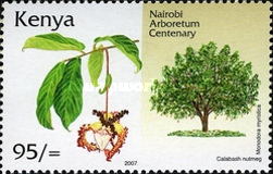 [The 100th Anniversary of the Arboretum in Nairobi, Typ ADR]