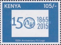 [The 150th Anniversary of the I.T.U. - International telecommunications Union, Typ ANW]