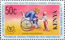 [International Year for Disabled Persons, type FW]