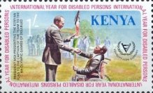 [International Year for Disabled Persons, type FX]