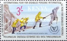 [International Year for Disabled Persons, type FY]