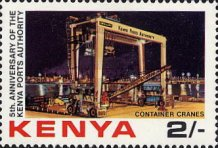 [The 5th Anniversary of Kenya Ports Authority, Typ IC]