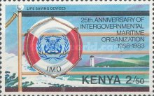 [The 25th Anniversary of Intergovernmental Maritime Organization, Typ JH]