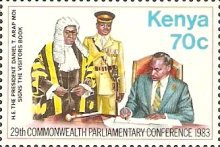 [Commonwealth Parliamentary Conference, Nairobi, Typ JK]