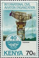 [The 40th Anniversary of International Civil Aviation Organization, Typ KB]