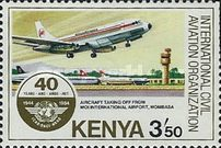 [The 40th Anniversary of International Civil Aviation Organization, Typ KD]