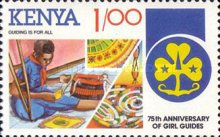 [The 75th Anniversary of Girl Guide Movement, Typ LJ]