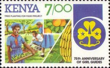 [The 75th Anniversary of Girl Guide Movement, Typ LM]