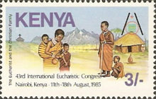 [The 43rd International Eucharistic Congress, Nairobi, Typ MF]