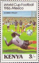 [Football World Cup - Mexico 1986, Typ MW]