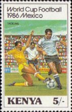 [Football World Cup - Mexico 1986, Typ MX]