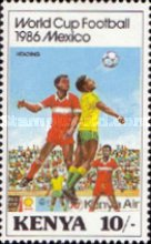 [Football World Cup - Mexico 1986, Typ MZ]