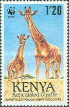 [Worldwide Nature Protection - Reticulated Giraffe, Typ RM]