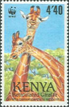 [Worldwide Nature Protection - Reticulated Giraffe, Typ RO]
