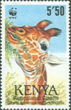[Worldwide Nature Protection - Reticulated Giraffe, Typ RP]