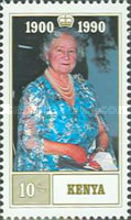 [The 90th Anniversary of the Birth of Queen Elizabeth the Queen Mother, 1900-2002, type TE]