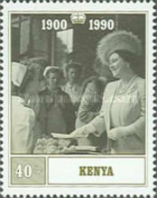 [The 90th Anniversary of the Birth of Queen Elizabeth the Queen Mother, 1900-2002, type TF]